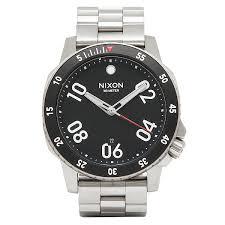 brand shop axes rakuten global market nixon watches mens nixon nixon watches mens nixon a506000 a506 000 the ranger nger watches watch silver black silver