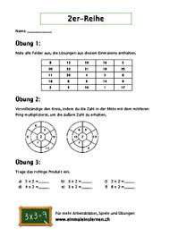11.402 kostenlose arbeitsblätter für mathematik zum ausdrucken: Einmaleins Uben Mit Arbeitsblattern Zum Ausdrucken