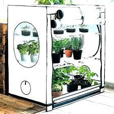 mini indoor greenhouse with light diy