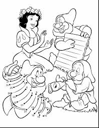 Marvelous Snow White At The Well With Snow White Coloring Pages