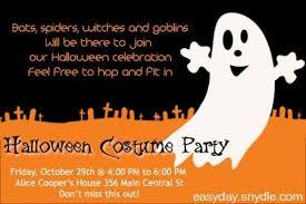 Costume Party Invitation Wording Lindamedia Info