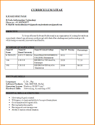 Best resume format for freshers engineers download ocr critical .