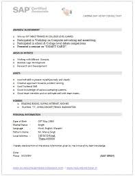 Sap Consultant Resume Free For Download Over Cv And Resume Samples