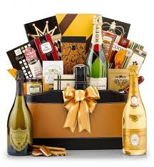 80th birthday chagne gift basket impress dad mom or another special man or woman