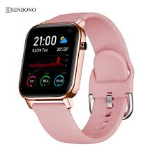 SENBONO IP68 Waterproof Smart <b>Watch SN87</b> Wristband Heart ...