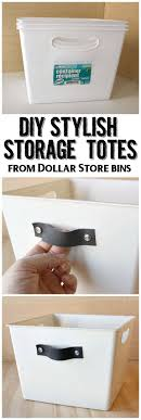 Diy Storage Container Ideas Best 25 Dollar Store Bins Ideas Only On Pinterest Used