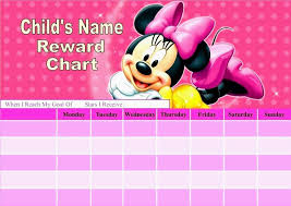 Printable Potty Training Chart Minnie Mouse Printable Potty Training Chart Mickey Mouse Best Picture