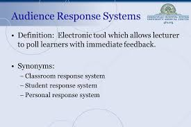 unc chapel hill essay feedback audience response systems transforming your lecture hall into a