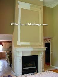 molding colors paint how to paint fireplace mantel painting dark molding white