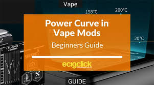 Vape Settings Chart Power Curve Guide For Vape Mods What It Is And How To Use It