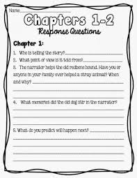 Where The Red Fern Grows Worksheets - Calleveryonedaveday