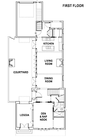 by coastal living ion cottage first floor