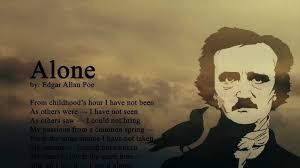 alone poem by edgar allan poe clinical depression symptoms author edgar allan poe from childhood s hour
