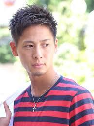 ウェットファインショートメンズ髪型 Lipps 原宿mens Hairstyle