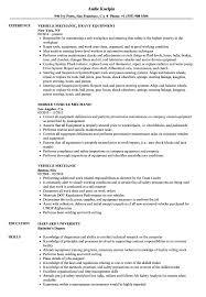 Vehicle Mechanic Resume Samples Velvet Jobs