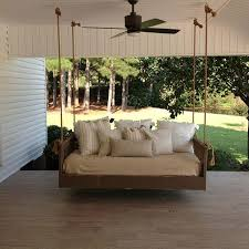 Patio Swing Bed Ridgidbuilt Mission Hanging Daybed Item Rbs ...