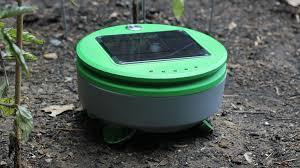Design Your Own Garden App Best Tertill The Solar Powered Weeding Robot For Home Gardens By