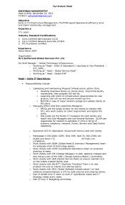 it head resume