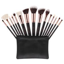 docolor 15pcs pro foundation powder eyeshadow face contour makeup brushes set walmart