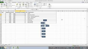 Excel Hierarchy Chart From Data Automatic Organizational Chart Excel Data Macro Vba