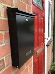 sdg1 wall mounted steel letterbox letterbox 4 youletterbox 4 you