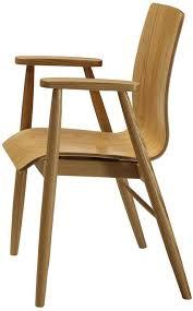 retro wooden armchair pc707