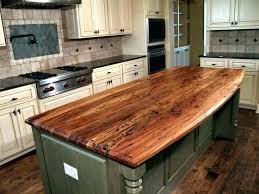 butcher island edge grain wood for solid kitchen countertop faucets tops table