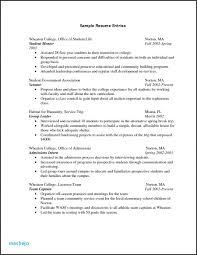 College Freshman Resume New Entry Level Resume Sorority Resume 0D ...