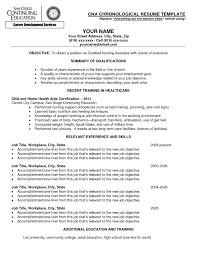Cna Resume Templates Free – E-Cide.com