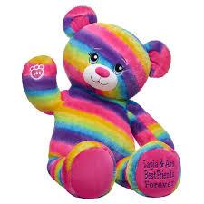 Bears NEW PLUSH DARK RAINBOW LEOPARD LIMITED EDITION BUILD A BEAR ...