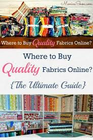 189 best Quilting - can't have too much fabric! images on ... & Where to Buy Quality Fabric Online, The Ultimate Guide Adamdwight.com