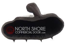 wooden garage door bottom weather seal lovely widsor p bulb garage door bottom weather seal sold