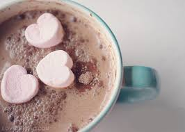 hot chocolate tumblr. Delighful Hot Hot Chocolate With Heart Marshmallows Intended Chocolate Tumblr H