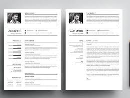 Simple Resume Template Free Download Word Psd Resumekraft
