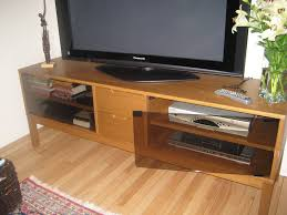 stockholm tv unit with glass doors