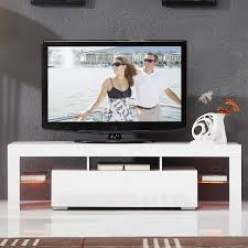 Furniture <b>High</b>-<b>Gloss</b> LED Lighting <b>Coffee Table</b> Living Room TV ...
