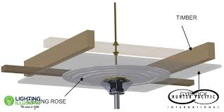 t hook ceiling fan mount for ceiling roses