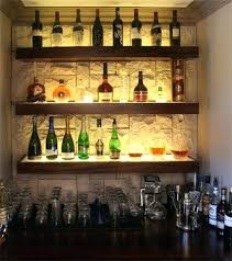 cool bar lighting. Cool Bar Shelves Liquor Light Box Shelf This Would Be Awesome In The Niche . Lighting