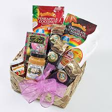 ultimate hawaiian breakfast gift basket