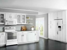 small white kitchens with white appliances. Perfect Kitchens Grey Wall Kitchen Home Contemporary Kitchens Decorating Ideas   Angels4peacecom For Small White With Appliances