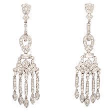 doris panos diamond chandelier dangle earrings at 1stdibs view larger