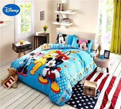 disney frozen duvet cover uk cartoon disney print bedding set cotton blue polka dot mickey and