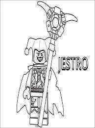 Kleurplaat Lego Nexo Knights 21