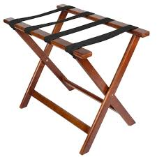 lancaster table seating 24 1 2 x 15 x 20 walnut wood folding luggage rack