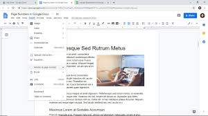 Design Page Number How To Add Page Numbers Google Docs