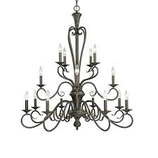 full size of 16 light chandelier colonial in polished brass organic amber scroll 38 wide bronze