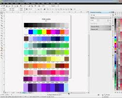 Creating A Color Chart For Coreldraw X4 And X5