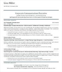 sample corporate resume communications professional resume sample resume  corporate communication manager