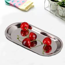 kitchen containers for sale hot sale thick stainless steel storage trays barbecue plate rice dish canteen restaurant dinnerware kitchen useful