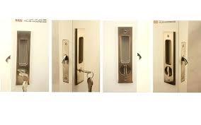 sliding door hardware locks handles slim fit exciting sliding door lock with key astonishing ideas sliding